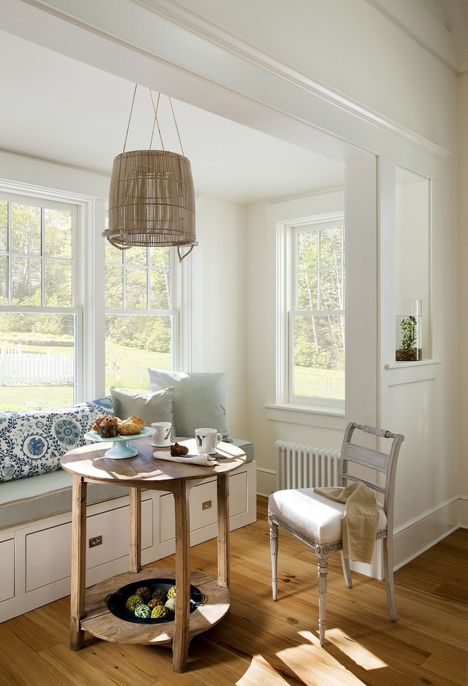 Dining Room , Breathtaking  Beach Style Dining Nooks Sets Picture : Lovely  Beach Style Dining Nooks Sets Picture