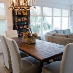 Lovely  Beach Style Dinner Set Table Ideas , Fabulous  Eclectic Dinner Set Table Picture In Dining Room Category