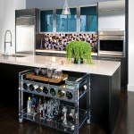 Lovely  Contemporary Acrylic Bar Cart Photo Inspirations , Beautiful  Contemporary Acrylic Bar Cart Image Inspiration In Dining Room Category