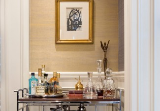 530x990px Fabulous  Contemporary Bar Cart Modern Image Ideas Picture in Dining Room