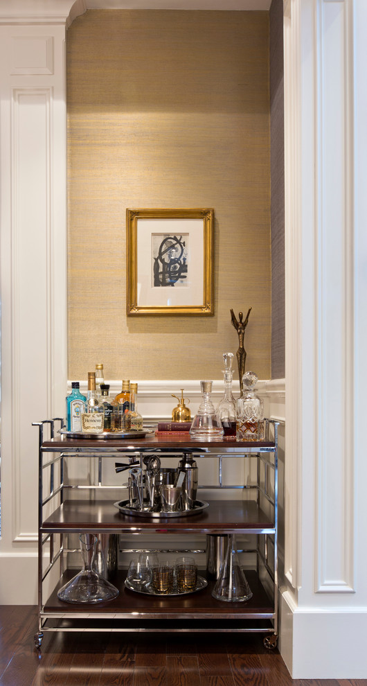Dining Room , Fabulous  Contemporary Bar Cart Modern Image Ideas : Lovely  Contemporary Bar Cart Modern Photos