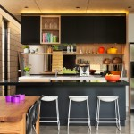 Lovely  Contemporary Black Microwave Cabinet Picture Ideas , Charming  Contemporary Black Microwave Cabinet Picture In Kitchen Category