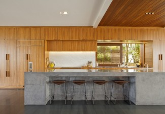 990x660px Stunning  Contemporary Concrete Countertop Form Liners Photo Ideas Picture in Kitchen