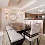 Lovely  Contemporary Dining Room Sets with a Bench Picture Ideas , Lovely  Transitional Dining Room Sets With A Bench Image Ideas In Dining Room Category