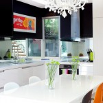 Lovely  Contemporary Dining Table in Kitchen Image Ideas , Fabulous  Modern Dining Table In Kitchen Picture In Kitchen Category