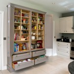 Lovely  Contemporary Free Standing Kitchen Pantry Units Picture , Lovely  Transitional Free Standing Kitchen Pantry Units Photo Ideas In Kitchen Category