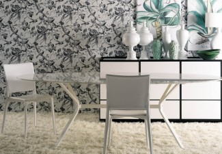 990x812px Breathtaking  Contemporary Glass Dining Table Chairs Image Inspiration Picture in Dining Room