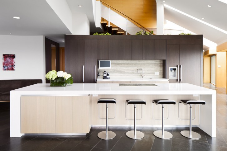 Kitchen , Lovely  Contemporary Kitchen Counter Cabinets Photo Inspirations : Lovely  Contemporary Kitchen Counter Cabinets Ideas