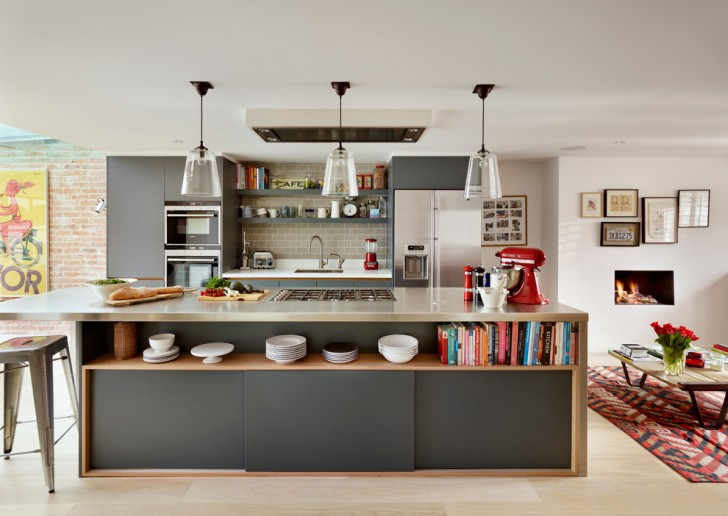 Kitchen , Breathtaking  Contemporary Kitchen Island Ideas Cheap Image Ideas : Lovely  Contemporary Kitchen Island Ideas Cheap Image Inspiration