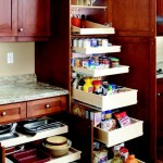 Lovely  Contemporary Kitchen Rolling Shelves Image , Stunning  Contemporary Kitchen Rolling Shelves Picture In Spaces Category