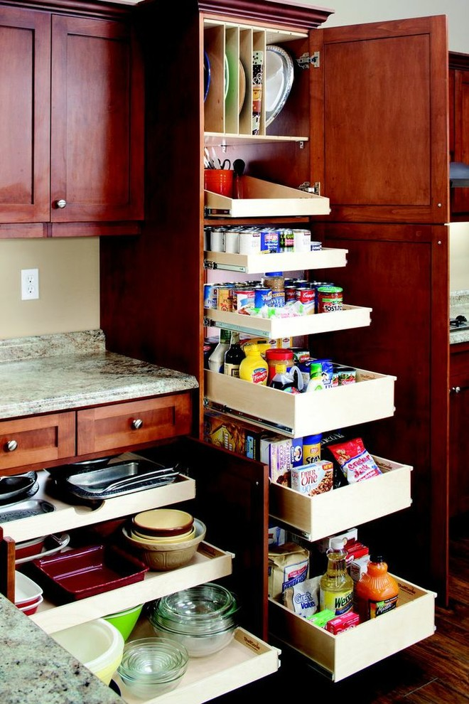 Spaces , Stunning  Contemporary Kitchen Rolling Shelves Picture : Lovely  Contemporary Kitchen Rolling Shelves Image