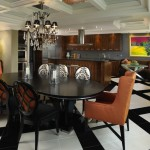 Lovely  Contemporary Kithcens Inspiration , Cool  Eclectic Kithcens Photos In Dining Room Category