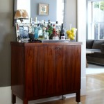 Lovely  Contemporary Mid Century Bar Cart Image Inspiration , Fabulous  Contemporary Mid Century Bar Cart Image Inspiration In Kitchen Category