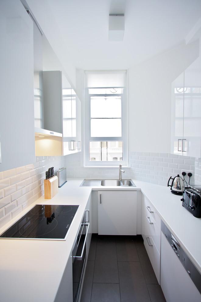 Kitchen , Beautiful  Contemporary Redo Laminate Countertop Image : Lovely  Contemporary Redo Laminate Countertop Photos
