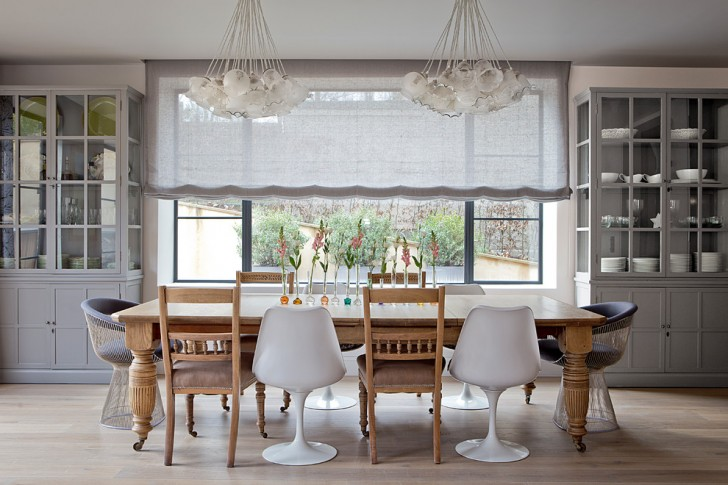 Dining Room , Stunning  Contemporary Round Kitchen Tables And Chairs Sets Inspiration : Lovely  Contemporary Round Kitchen Tables and Chairs Sets Picture