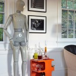 Lovely  Contemporary Small Bar Cart Picture Ideas , Stunning  Contemporary Small Bar Cart Photos In Home Bar Category