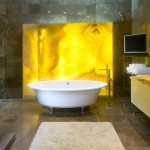 Lovely  Contemporary Small Soaking Bathtubs for Small Bathrooms Image , Gorgeous  Beach Style Small Soaking Bathtubs For Small Bathrooms Photo Ideas In Bathroom Category