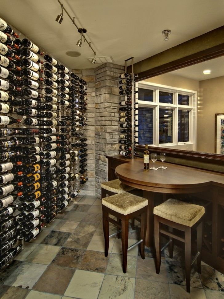 Wine Cellar , Breathtaking  Contemporary Table And Stools Sets Image Ideas : Lovely  Contemporary Table and Stools Sets Photo Inspirations