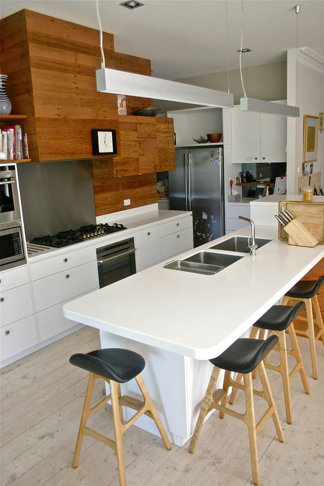 Kitchen , Fabulous  Contemporary Wooden Kitchen Cupboards Photos : Lovely  Contemporary Wooden Kitchen Cupboards Ideas