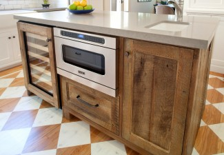 990x692px Lovely  Craftsman Microwave In Kitchen Island Inspiration Picture in Kitchen