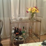 Lovely  Eclectic Brass Bar Carts Picture Ideas , Cool  Contemporary Brass Bar Carts Picture In Home Bar Category