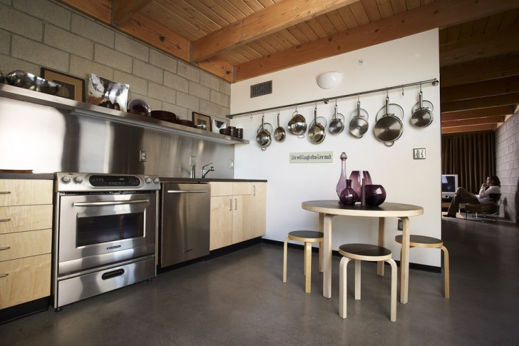 Kitchen , Fabulous  Eclectic Kitchen Pot Rack  Photo Inspirations : Lovely  Eclectic Kitchen Pot Rack  Photos