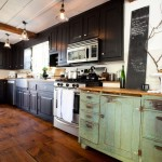 Lovely  Farmhouse Black Cabinets Kitchen Photo Inspirations , Stunning  Traditional Black Cabinets Kitchen Image Inspiration In Kitchen Category