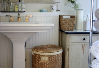660x990px Cool  Farmhouse Modern Pedestal Sinks For Small Bathrooms Image Inspiration Picture in Bathroom