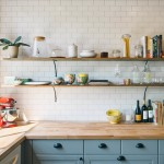 Lovely  Industrial Butcher Block Shelves Photo Inspirations , Cool  Eclectic Butcher Block Shelves Photos In Kitchen Category