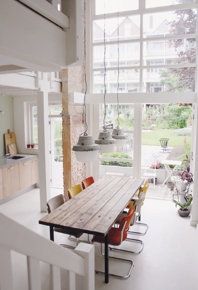 Dining Room , Lovely  Industrial Dinner Tables And Chairs Inspiration : Lovely  Industrial Dinner Tables and Chairs Ideas