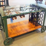 Lovely  Industrial Industrial Bar Cart Photo Inspirations , Lovely  Traditional Industrial Bar Cart Picture Ideas In Living Room Category