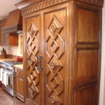 Lovely  Mediterranean Kitchen Cabinet Pantries Image Ideas , Stunning  Traditional Kitchen Cabinet Pantries Image Inspiration In Kitchen Category