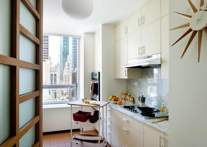 Kitchen , Lovely  Midcentury Microwave Kitchen Carts Ideas : Lovely  Midcentury Microwave Kitchen Carts Photos