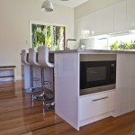 Lovely  Modern Black Microwave Stand Image , Stunning  Contemporary Black Microwave Stand Picture In Exterior Category