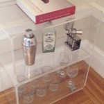 Lovely  Modern Lucite Bar Cart Picture , Stunning  Eclectic Lucite Bar Cart Photo Ideas In Dining Room Category