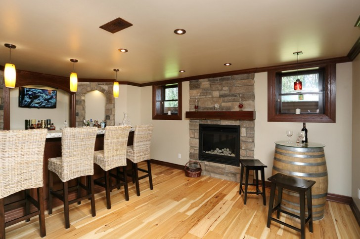 Basement , Awesome  Rustic Barrel Tables And Chairs Photos : Lovely  Rustic Barrel Tables and Chairs Inspiration