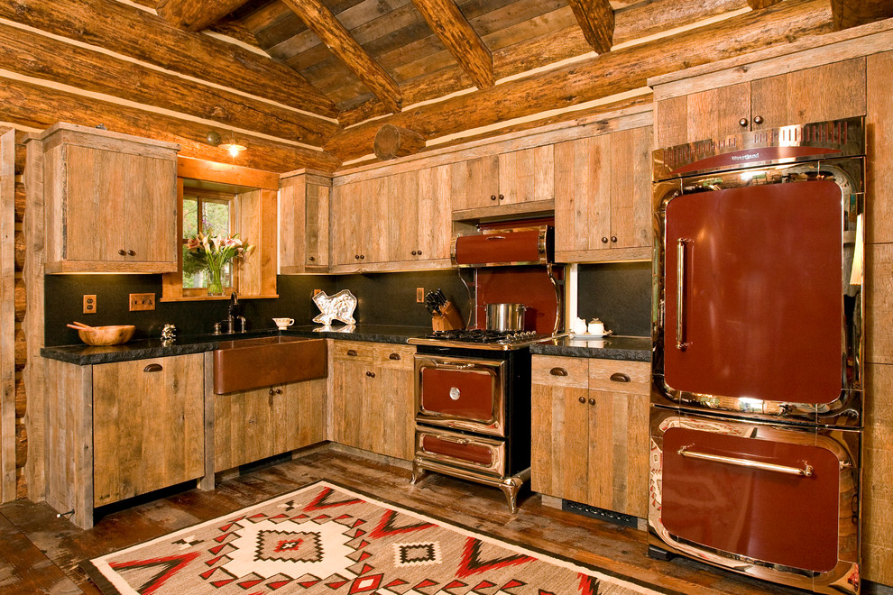 Ремонт деревенской кухни