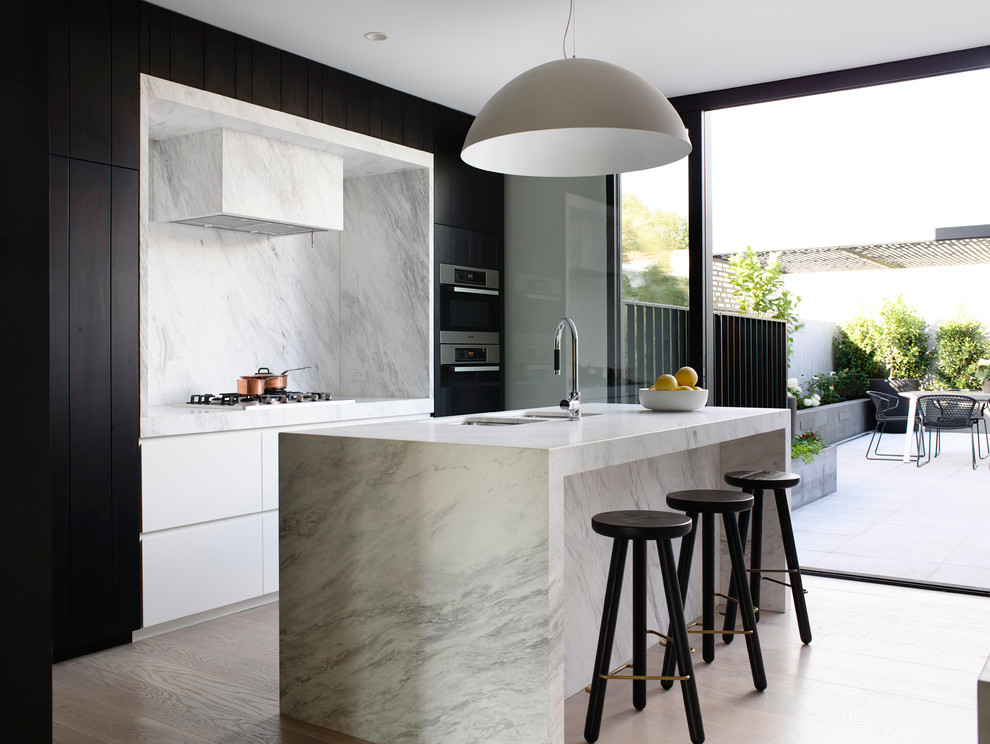 Kitchen , Gorgeous Contemporary Connemara Marble Countertops Inspiration :  Lovely Scandinavian Connemara Marble Countertops Photo Ideas