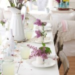 Lovely  Shabby Chic Kitchen Table Sets with Benches Picture , Charming  Farmhouse Kitchen Table Sets With Benches Ideas In Dining Room Category