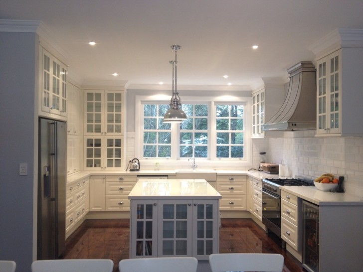 Kitchen , Wonderful  Traditional Ikea Kitchen Cabinets White Picture Ideas : Lovely  Traditional Ikea Kitchen Cabinets White Image