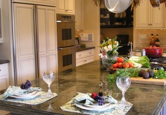 742x990px Breathtaking  Traditional Island Pot Rack Photos Picture in Kitchen