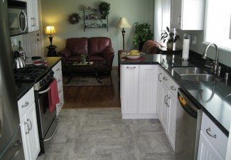 990x742px Wonderful  Traditional Kitchen Cabinets And Counter Tops Image Picture in Kitchen