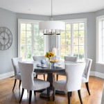 Lovely  Traditional Kitchen Round Table and Chairs Inspiration , Lovely  Traditional Kitchen Round Table And Chairs Image In Spaces Category