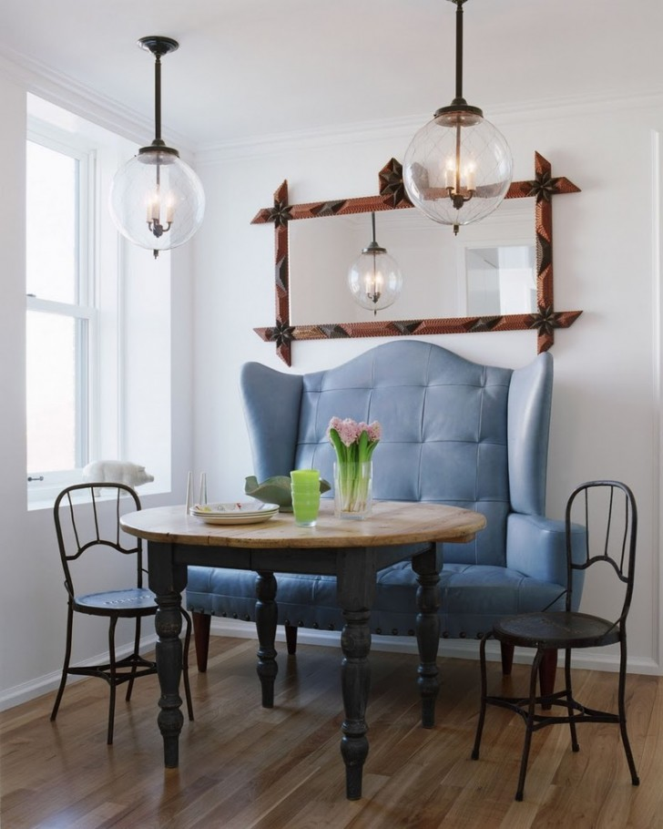 Dining Room , Wonderful  Traditional Modern Breakfast Nook Furniture Photo Inspirations : Lovely  Traditional Modern Breakfast Nook Furniture Picture