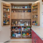 Lovely  Traditional Oak Pantry Storage Cabinet Photos , Beautiful  Traditional Oak Pantry Storage Cabinet Photos In Kitchen Category