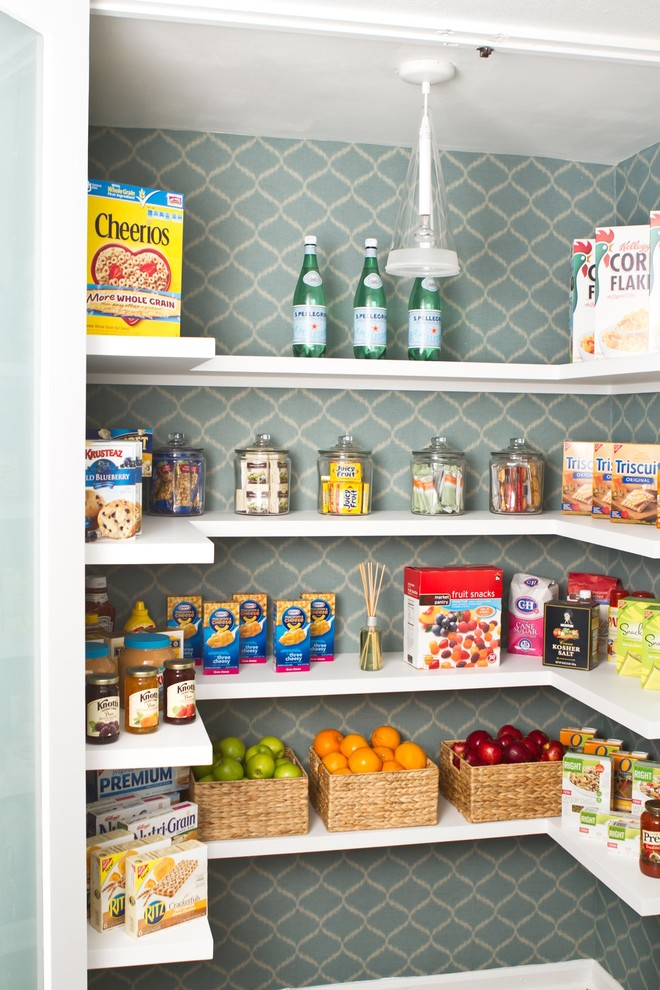 Kitchen , Fabulous  Transitional Black Pantry Storage Cabinet Photos : Lovely  Transitional Black Pantry Storage Cabinet Photo Inspirations