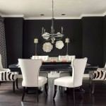 Lovely  Transitional Black Table Chairs Ideas , Gorgeous  Traditional Black Table Chairs Photo Inspirations In Dining Room Category