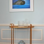 Lovely  Transitional Mobile Bar Cart Photo Ideas , Beautiful  Contemporary Mobile Bar Cart Image In Spaces Category