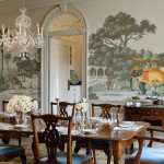 Lovely  Victorian Dinner Room Table Set Ideas , Stunning  Eclectic Dinner Room Table Set Image Inspiration In Dining Room Category