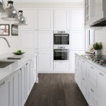Lovely  Victorian White Kitchen Island with Natural Top Picture , Stunning  Traditional White Kitchen Island With Natural Top Photo Inspirations In Kitchen Category